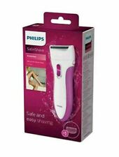 Philips HP6341 SatinShave Essential Lady Shaver, Wet and Dry, Battery Operated,
