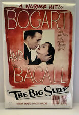 "Big Sleep Magnet 2""x3"" Refrigerator Locker Movie Poster"