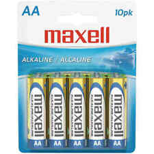 Maxell 723410 - Lr610Bp Alkaline Batteries - Aa - 10 Pack - Carded