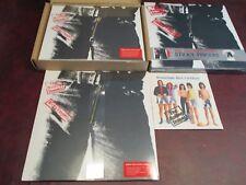 ROLLING STONES STICKY FINGERS SET ZIPPER LP+CD/DVD 45 SINGLE BOX+COLOREDLP/T+45