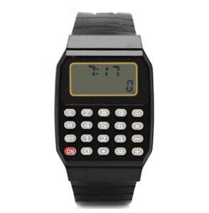 Reloj Calculadora de los años 80 de silicona estilo Retro | Stock En España
