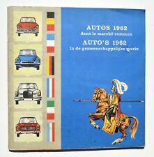 Chocolat Jacques - AUTOS 1962 dans le Marché Commun - Album chromos complet