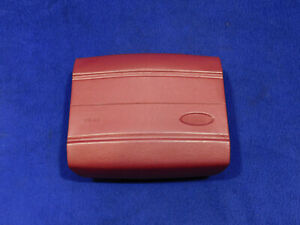 93 Ford Mustang Drivers Air Pillow Bag Cranberry Red OEM Take Off T90