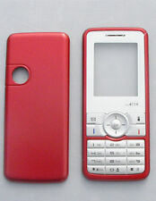 Coque Facade Sagem my411X rouge compatible