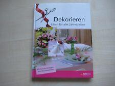 Dekorieren Ideen für alle Jahreszeiten mit Schnitt-Vorlagen Bastelbuch Dekobuch