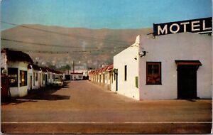 Postcard Mozzetti's Motel in Brisbane, San Francisco, California~1207