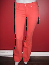 JAMES JEANS Women's Coral Play Girl Slim Leg Ultra Flare Jeans - Size 24 - NWT