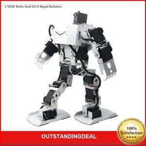 17DOF Robo-Soul H3.0 Biped Robotics Humanoid Robot Frame +Servos + Controller
