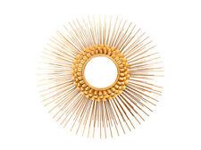 Spiegel Dekospiegel Deko Sonnenspiegel Modern Gold Wanddeko 81cm