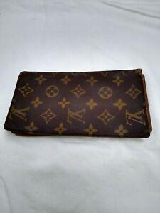 "Authentic Louis Vuitton Credit Card Wallet Checkbook 4""x7"""