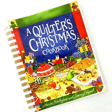 A Quilter's Christmas Cookbook by Stoltzfus and Ranck