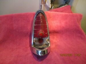 1955 DESOTO FIREDOME FACTORY OEM PASSENGER TAILLIGHT HOUSING FREE SHIPPING