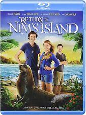 Return to Nim's Island 2013 Blu-ray / DVD Combo Bindi Irwin, Lillard, Waters NEW