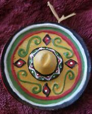 Vintage Mini Ceramic Sombrero Hat wall display