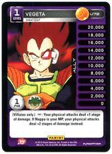 Vegeta #U72 DragonBall Z Heroes & Villains 2015 Panini Uncommon TCG Card (C1659)