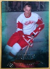 2011-12 GORDIE HOWE 'MR. HOCKEY' PARKHURST CHAMPIONS CARD #2 RED WINGS