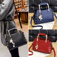 Women Fashion PU Leather Messenger Crossbody Lady Shoulder Bag Satchel Handbags
