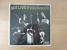 """The Rolling Stones – Got Live If You Want It!, DFEX 8620, 12"""" LP, still sealed"""