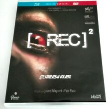 REC 2 - PACO PLAZA Y JAUME BALAGUERO - DVD + BLURAY -  SPANISH EDITION - TERROR