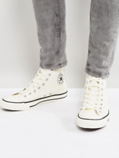 Converse Ctas Hi-Rise Boot Egret / Egret / black 157469c Men's Size UK 13 bnib