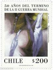 Chile 1995 #1745 50 años Termino Segunda Guerra Mundial MNH