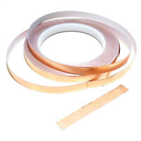 5mm 10mm 20mmx25m Copper Slug Tape:Adhesive Copper Slug Snail Barrier Tape F8A