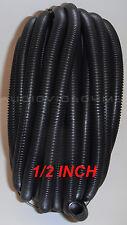 "1/2"" Split Wire Loom Conduit Polyethylene Tubing 150' ft Car Audio Installation"