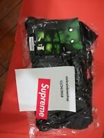 Supreme FW18 Polartec Small Box Logo Crewneck Black size LARGE - IN HAND!