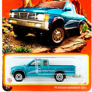 '95 Nissan Hardbody D21 #38 🟦 Teal 🟦 2021 Matchbox Case Y (✅ IN HAND ✅)