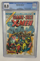 Giant Size X-men #1 CGC 8.0  Off-White To White Pages! 1st App Of The New X-men
