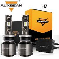 AUXBEAM H7 LED Headlight Canbus No-Error for Mercedes Benz SL S SLK E C CL Class