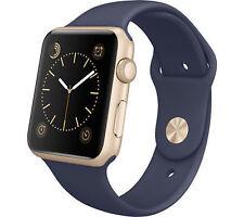Apple Watch Sport 42mm Aluminum Case Midnight Blue Sport Band - (MLC72LL/A) R