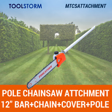 Pole saw/Chainsaw Attachment For Honda 9 Splines Multi-tool Brush cutter Pruner