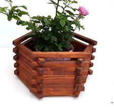 madera maceta Cubo, macetas, almacenaje Cubetas