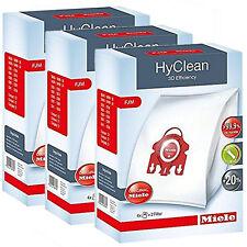 Genuine Miele FJM HyClean Aspirapolvere S6220 Polvere Filtri Sacchetti - 3 scatole