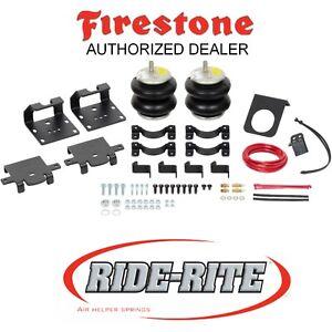 Firestone 2613 Ride Rite Rear Air Spring for 11-21 Silverado Sierra 2500 3500 HD