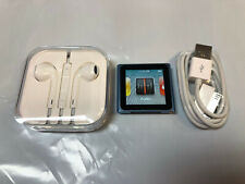Ipod NANO Touch Sports Clip 8GB with APPLE EARBUDS BUNDLE Blue