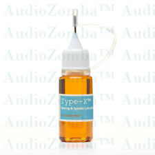 TURNTABLE SPINDLE OIL BEARING LUBRICATION kit TYPE-X™ 10ml WITH INSTRUCTIONS
