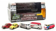 GREENLIGHT 1:64 SCALE DIECAST METAL VOLKSWAGON 5 VEHICLE JUNK YARD ASSORTMENT