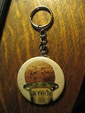 Patron Tequila Bottle Mexico Advertisement Keychain Backpack Purse Clip Ornament