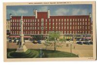 Postcard Hotel Woodruff Public Square Watertown NY