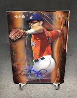Derek Fisher 2014 Bowman Topps Sterling Auto Orange /75 Astros MLB Rookie Card