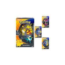 Pack de 3 Figurines Pokémon Sachanobi Brutalibré et Pikachu - Tomy