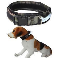 "Military Tactical Dog Collar Reflective Handler 2"" Wide Nylon Sizes Medium Large"