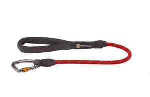 Ruffwear Knot-a-Long  Dog Leash In  Red Sumac 30 in NWT