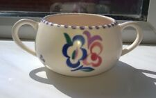 Vintage Small Poole Pottery bowl RD Pattern Signed 1930's