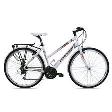 Torpado Cross Fire Bicicletta Muscolare da Trekking Adulto Unisex - Bianco