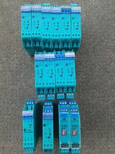 Pepperl + Fuchs KFA6-SR2-Ex2.W,KSD2-CI-S-Ex,KSD2-CO-S-Ex,KFD2-SD-Ex1.48-90A 14St