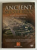 Ancient Mysteries, Lost Mummies Of The Inca (DVD 2005) The History Channel