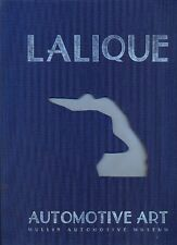 Lalique Car Mascots - hardback book by the Mullin Museum - deluxe edition